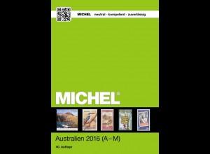 MICHEL ÜK 7/1 Australien / Ozeanien / Antarktis 2016 - Band 1 von A bis M