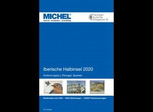 MICHEL E 4 Iberische Halbinsel 2020 in Farbe - sauber GEBRAUCHT