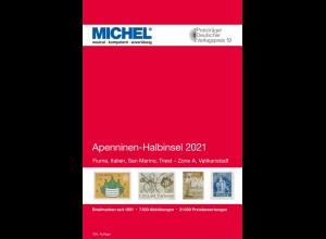 MICHEL E 5 Apenninen-Halbinsel 2021 in Farbe