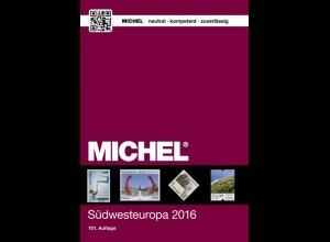 MICHEL EK 2 Südwestreuropa 2016 in Farbe - sauber gebraucht