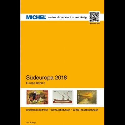 MICHEL EK 3 Südeuropa 2018 in Farbe