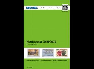 MICHEL EK 5 Nordeuropa 2019/2020 in Farbe - sauber GEBRAUCHT