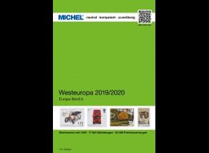 MICHEL EK 6 Westeuropa 2019/2020 in Farbe - sauber GEBRAUCHT
