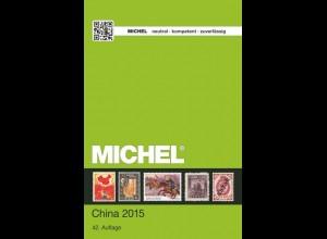 MICHEL ÜK 9/1 China 2015 - sauber gebraucht