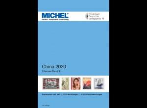 MICHEL ÜK 9/1 China 2020 in Farbe
