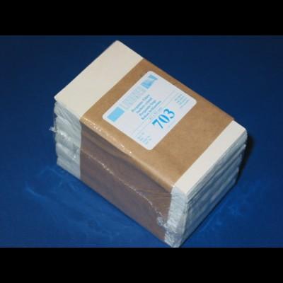 LINDNER 500 Pergamin-Tüten Nr. 703 - 63 x 93 mm + 14 mm Klappe