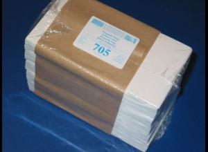 LINDNER 500 Pergamin-Tüten Nr. 705 - 75x117 mm + Klappe 16 mm