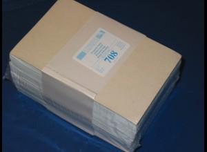 LINDNER 500 Pergamin-Tüten Nr. 708 - 95x132 mm + 16 mm Klappe