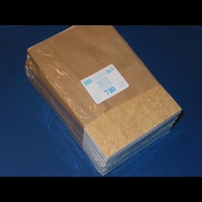 LINDNER 500 Pergamin-Tüten Nr. 710 - 115x160 mm + 20 mm Klappe