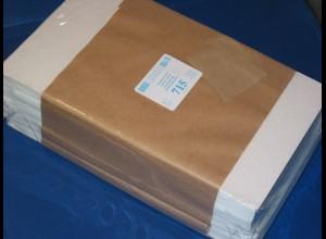 LINDNER 500 Pergamin-Tüten Nr. 715 - 145x230 mm + 20 mm Klappe