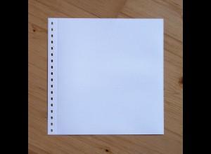 LINDNER Omnia Einsteckblatt 09 weiß 1 Streifen