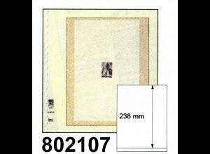 LINDNER-T-Blanko - Einzelblatt 802 107