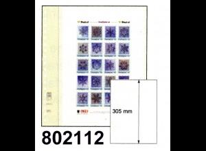 LINDNER-T-Blanko - Einzelblatt 802 112 für DIN A4