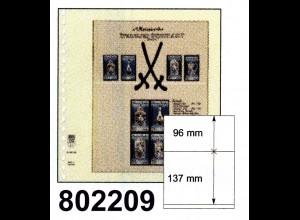 LINDNER-T-Blanko - Einzelblatt 802 209