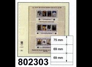 LINDNER-T-Blanko - Einzelblatt 802 303