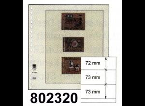 LINDNER-T-Blanko - Einzelblatt 802 320