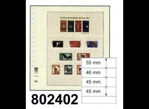 auslaufende Größe: LINDNER-T-Blanko - Einzelblatt 802 402