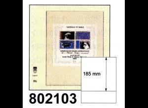 LINDNER-T-Blanko-Blätter 802 103 - 10er-Packung