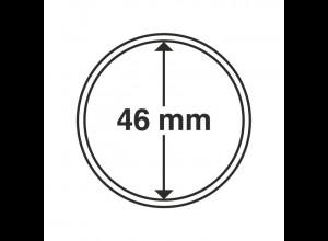 Münzkapseln Innendurchmesser 46 mm, 10 Stück