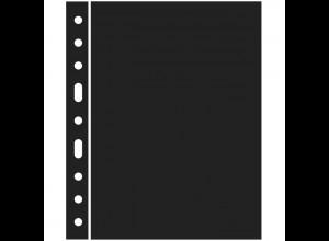 Kunststoffhüllen GRANDE: 5 Zwischenlagen, schwarz