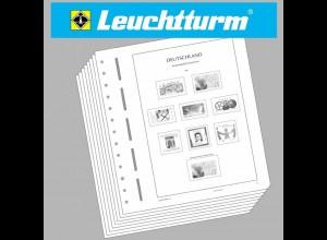 LEUCHTTURM Vordruckblätter Dt. Reich Kolonien + Auslandspostämter, OHNE Taschen