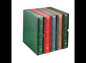 LEUCHTTURM Schutzkassette für Albenbinder, grün