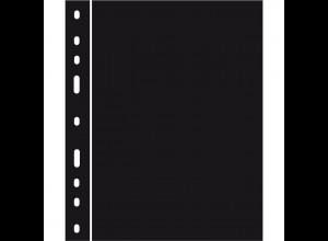 10 Zwischenlagen für Kunststoffhüllen OPTIMA, schwarz