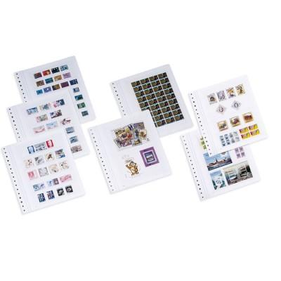KABE 5er-Pack Blankoblätter ORION 4, mit vier Schutzstreifen