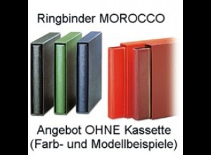 SAFE Ringbinder MOROCCO ohne Kassette, Farbe hellrot
