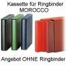 SAFE Kassette für Ringbinder MOROCCO, Farbe hellrot