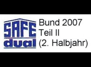 SAFE Bund 2007 Teil II [2.Halbjahr 2007] Blatt 149-151