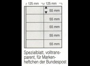 SAFE-Markenheftchen-Blätter 8251 - 5 Streifen, 5er-Pack