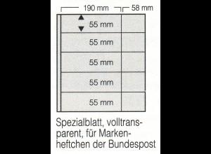SAFE-Markenheftchen-Blätter 8252: 5 Streifen, 5er-Pack