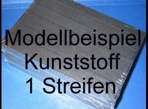 KOBRA-Einsteckkarte C5, Kunststoff, K11 - 1 Streifen, 50 Stück