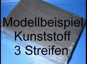 KOBRA Einsteckkarte C5, Kunststoff, K13 - 3 Streifen, 50 Stück