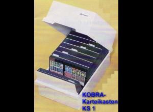 KOBRA-Karteikasten KS1 für DIN A5 quer mit Deckel