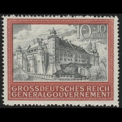 125 Fünf Jahre Generalgouvernement, ** postfrisch