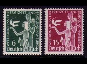 622-623 Weltkongress 1936 - Satz **