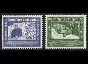 669-670 Graf von Zeppelin - Satz postfrisch **