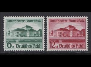 673-674 Saarpfalz 1938 - Satz **