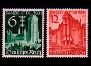 714-715 Wiedereingliederung von Danzig 1939 - Satz **