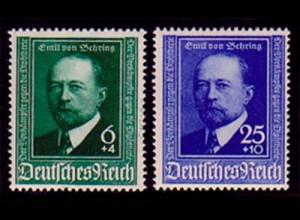 760-761 Emil von Behring 1940 - Satz ** postfrisch