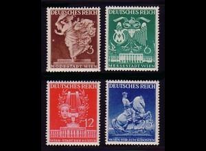 768-771 Wiener Messe 1941 - Satz komplett postfrisch **