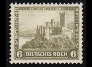 475 Nothilfe Burgen und Schlösser 6+4 Rpf **