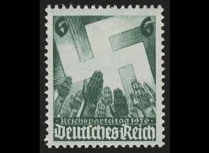 632 Nürnberger Parteitag 6 Pf **