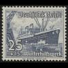658 Winterhilfswerk Schiffe 25+15 Pf **