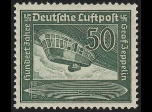 670 Flugpostmarke Graf von Zeppelin 50 Pf, postfrisch **