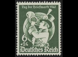 762 Tag der Briefmarke 1941 - Marke ** postfrisch