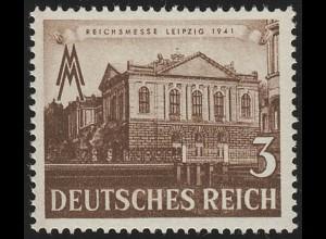 764 Leipziger Frühjahrsmesse 3 Pf, postfrisch **