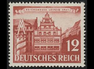 766 Leipziger Frühjahrsmesse 12 Pf, ** postfrisch